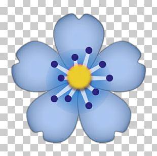 Emoji IPhone Flower Sticker PNG