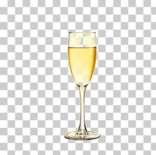 White Wine Champagne Cocktail Wine Glass PNG