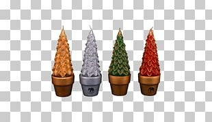 Christmas Ornament Candle Pine Flowerpot PNG