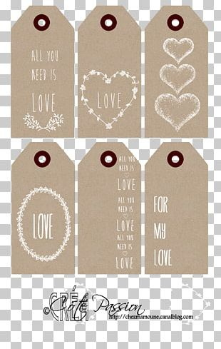 Kraft Paper Packaging And Labeling Printing PNG