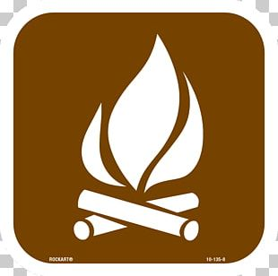Sticker Campfire Decal Camping Symbol PNG