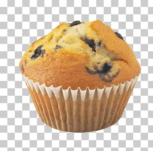 Muffin Blueberry PNG