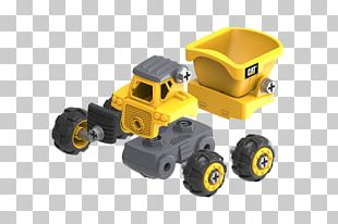 Caterpillar Inc. Toy Machine Dump Truck Construction Set PNG