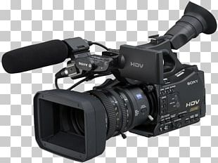 Camcorder HDV Sony Professional Video Camera PNG