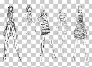 Fashion Illustration Drawing Fashion Design Sketch PNG