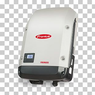 Fronius International GmbH Solar Inverter Power Inverters Grid-tie Inverter Three-phase Electric Power PNG