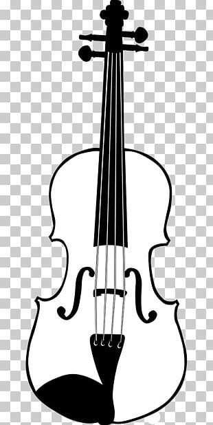 Violin Drawing Musical Instruments Fiddle Electronic Tuner PNG