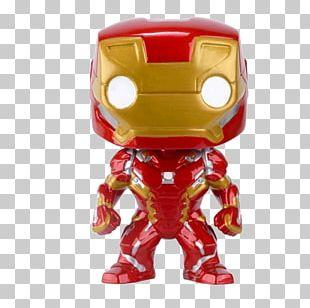 Iron Man Captain America War Machine Funko Action & Toy Figures PNG