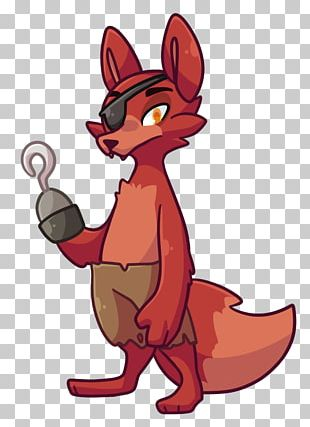 Red Fox Five Nights At Freddy's: Sister Location Caricature PNG