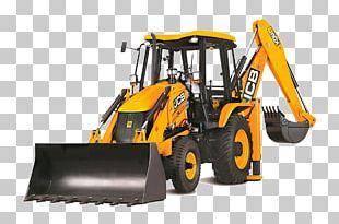 JCB Heavy Machinery Backhoe Loader PNG