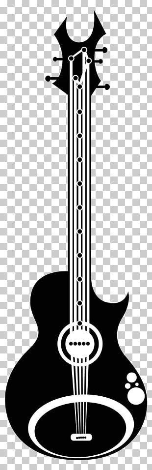 Bass Guitar Art String Instruments Drawing PNG
