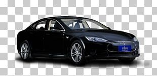 Tesla Model S Mid-size Car Compact Car Sports Car PNG