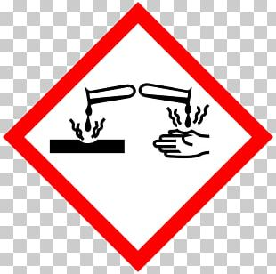 Corrosive Substance Hazard Symbol Corrosion Chemical Substance PNG