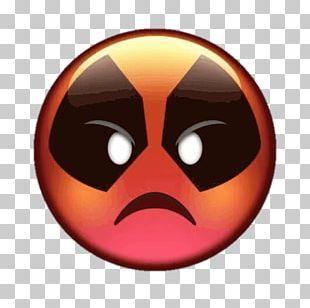 Deadpool Telegram Sticker Emoji Snout PNG