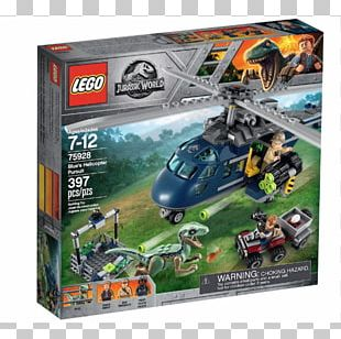 LEGO Jurassic World Blue's Helicopter Pursuit 75928 Lego Duplo Lego Juniors PNG