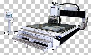 Machine Water Jet Cutter Cutting Tool Computer Numerical Control PNG