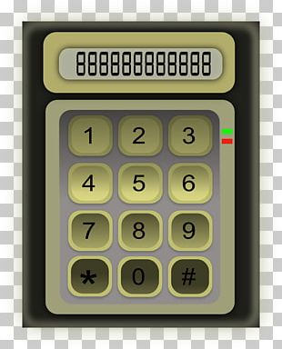 Solar-powered Calculator Accounting PNG