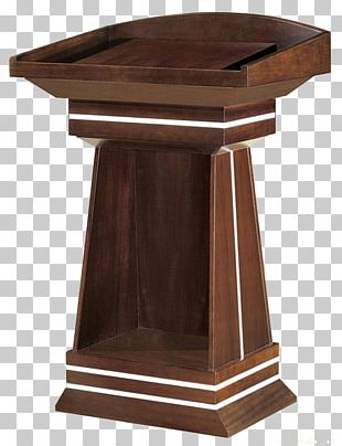 Table Furniture Chair Pulpit Estand PNG