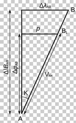 Plane Sailing Angle Latitude Distance PNG