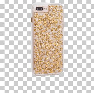 Apple IPhone 7 Plus Apple IPhone 8 Plus IPhone 6s Plus Case-Mate Carats Case For IPhone 6/6S-Transparent/Gold Apple IPhone 6s PNG
