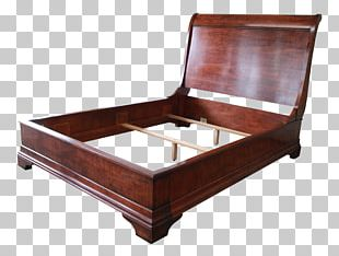 Bed Frame Sleigh Bed Mattress Sofa Bed PNG