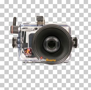 Camera Lens Canon PowerShot SX210 IS Underwater Photography Point-and-shoot Camera PNG