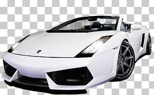 Lamborghini Gallardo Spyder Sports Car PNG
