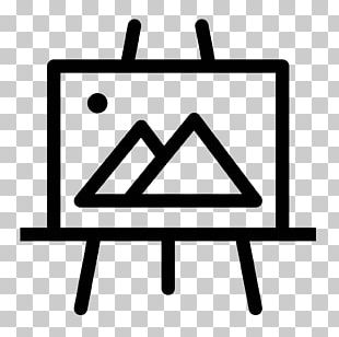 Easel Computer Icons Oil Painting PNG
