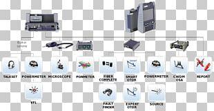Optical Time-domain Reflectometer JDSU Optical Fiber Fiber To The X Viavi Solutions PNG