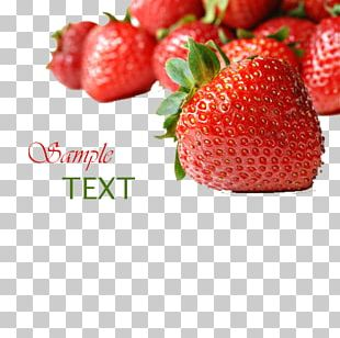 Strawberry Poster PNG