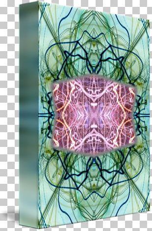 Floral Design Window Symmetry Pattern PNG