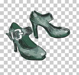 Woman Shoe Stock Illustration Illustration PNG