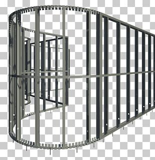 Wall Stud Framing Curtain Wall Steel Frame PNG