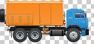 Car Pickup Truck Intermodal Container Dump Truck PNG