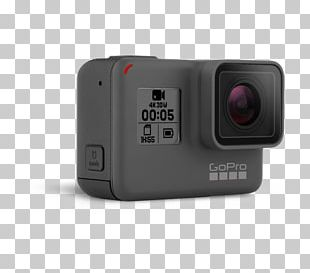 GoPro HERO5 Black Action Camera 4K Resolution PNG