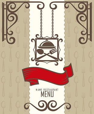Menu Restaurant Xc0 La Carte PNG