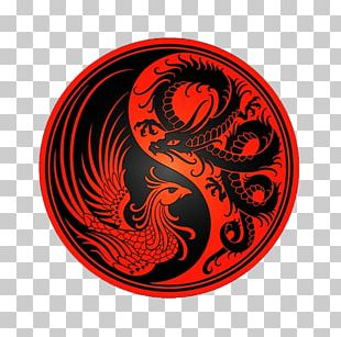 Chinese Dragon Zazzle Phoenix T-shirt Yin And Yang PNG