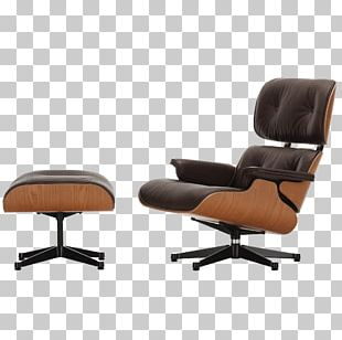 Eames Lounge Chair Wood Lounge Chair And Ottoman Charles And Ray Eames Foot Rests PNG
