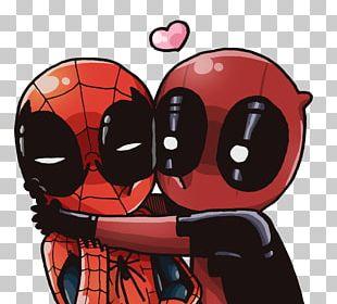 Deadpool Spider-Man Marvel Comics Iron Man PNG