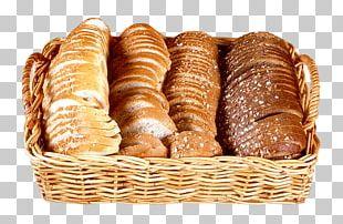 Basket Of Bread Bakery PNG