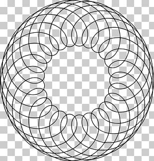 Circle Geometry Shape Drawing PNG