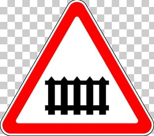 Rail Transport Train Level Crossing Traffic Sign PNG