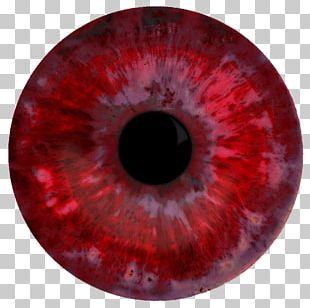 Red Eye Iris Organ Pupil PNG