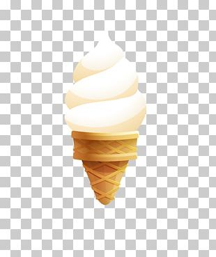 Ice Cream Cones Sundae Dessert PNG