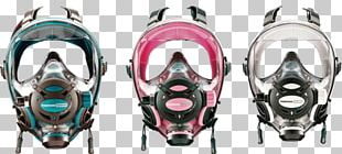 Diving & Snorkeling Masks Full Face Diving Mask Underwater Diving PNG