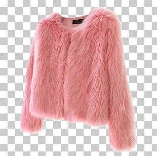 Fake Fur Jacket Fur Clothing Coat PNG