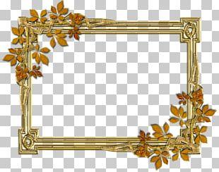 Frame Text Brass Pattern PNG