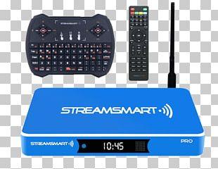 Streaming Box Streaming Media Television Smart TV 4K Resolution PNG