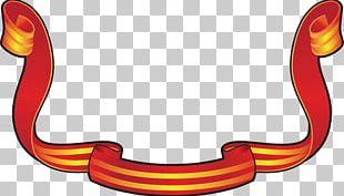 Red Ribbon Adhesive Tape PNG