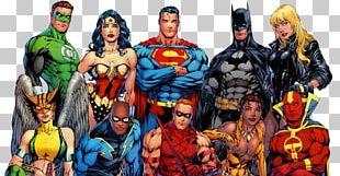 Superman Red Sonja Justice League Comics Superhero PNG